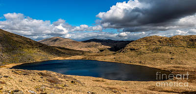 Lake Teyrn Snowdonia Art Print