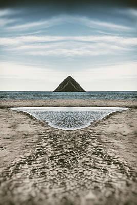 Lake To Island Art Print
