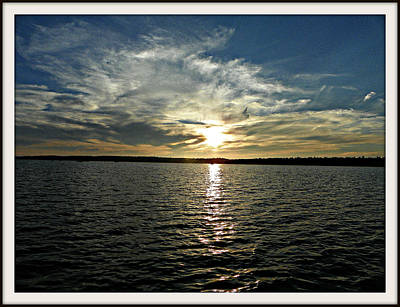Photograph - lake Tomiko Sunset by Dianne  Lacourciere
