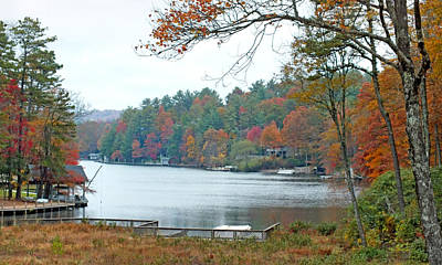 Photograph - Lake Toxaway In The Fall 2 by Duane McCullough