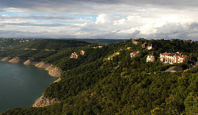 Photograph - Lake Travis View by Judy Vincent
