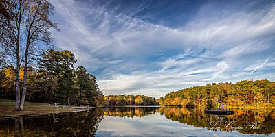 Photograph - Lake View At Oconee State Park by Mike Covington