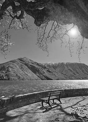 Lake Como Photograph - Lake View by Brooke T Ryan