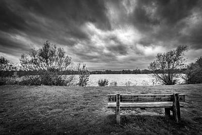 Art Print featuring the photograph Lake View. by Gary Gillette