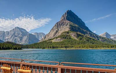 Photograph - Lake View by John M Bailey