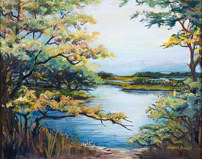Painting - Lake View by Sharon Sorrels