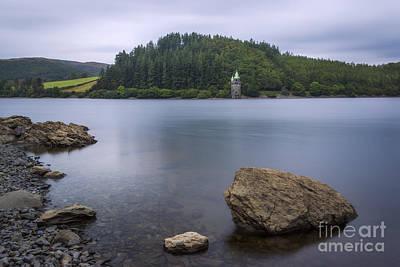 Lake Vyrnwy Art Print by Ian Mitchell