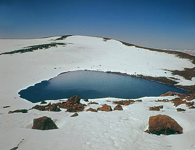 Photograph - 100912-lake Waiau On Mauna Kea by Ed  Cooper Photography