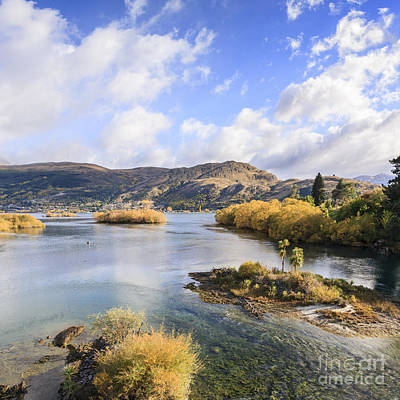 Lake Wakatipu New Zealand Art Print