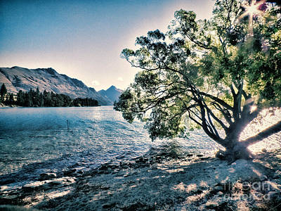 Photograph - Lake Wakitipu by Karen Lewis