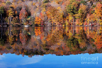 Warren Connecticut Photograph - Lake Waramaug Blue by Andrea Simon