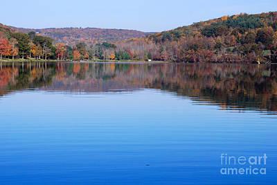Warren Connecticut Photograph - Lake Waramaug Blue IIi by Andrea Simon