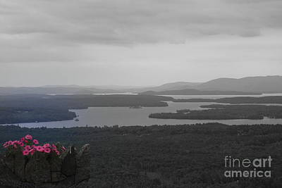 Lake Winnipesaukee      Sold Art Print
