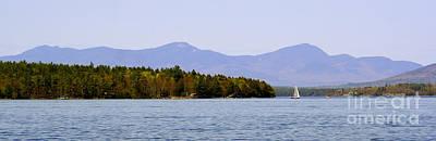 Photograph - Lake Winnipesaukee by LR Photography