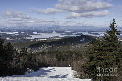Photograph - Lake Winnipesaukee In Winter by Sharon Seaward