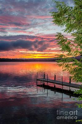Lake Winnisquam Sunrise 2 Art Print