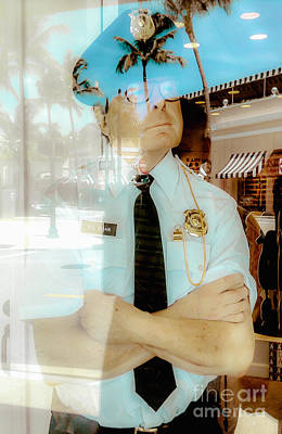 Photograph - Lake Worth Florida Faux Police by Ginette Callaway