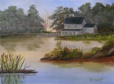 Lakehouse Art Print