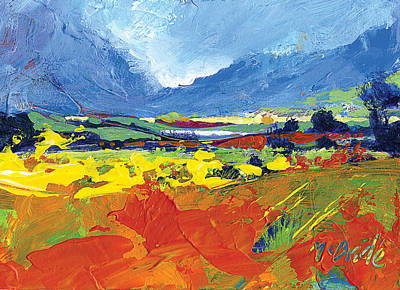 Hills Painting - Lakeland Splash by Neil McBride