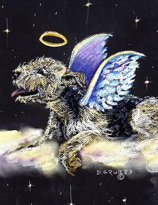 Lakeland Terrier Angel Art Print