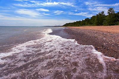 Photograph - Lakeport Beach - Lakeport Michigan by Gordon Dean II