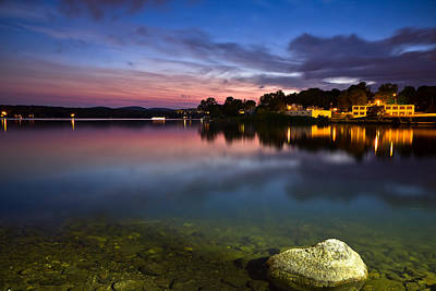 Photograph - Lakeport Sunset by Robert Clifford
