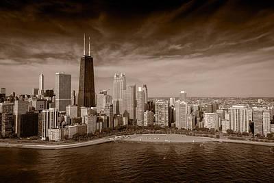 Lakeshore Chicago Aloft Bw Original