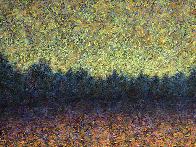 Painting - Lakeshore Sunset by James W Johnson