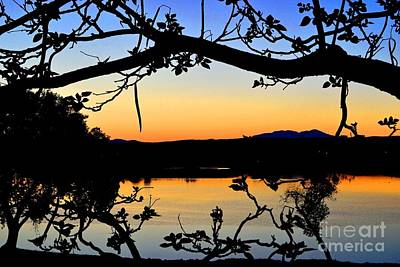 Photograph - Lakeside Hues Landscape by Third Eye Perspectives Photographic Fine Art
