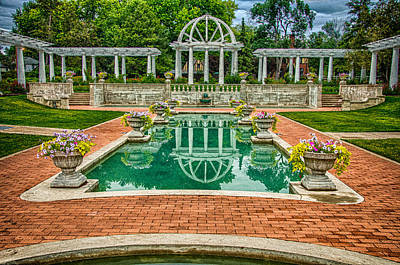 Photograph - Lakeside Park Wedding Pavilion II by Gene Sherrill