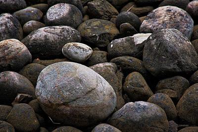 Photograph - Lakeside Rocks At Lake Annette #2 by Stuart Litoff
