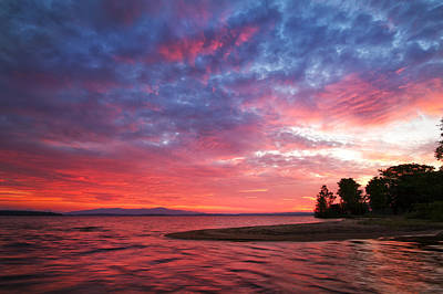 Photograph - Lakeside Sunrise by Robert Clifford