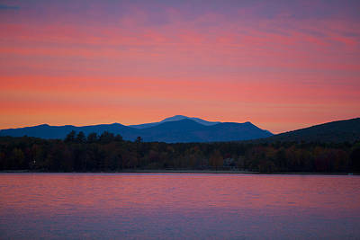 Photograph - Lakeside Sunset by Larry Landolfi