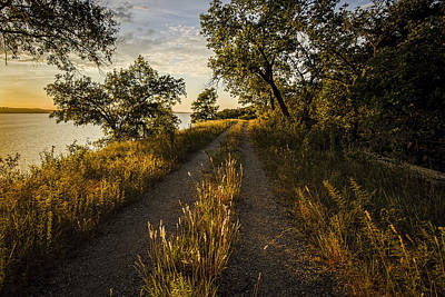 Photograph - Lakeside Trail by Scott Bean