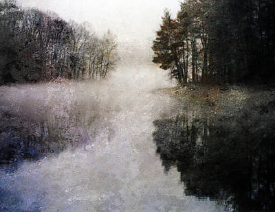 Lakeside Trees Art Print by Bruce Rolff