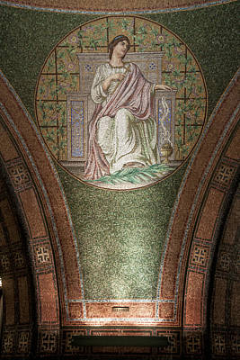 Lakewood Chapel Detail Faith Art Print by T C Hoffman