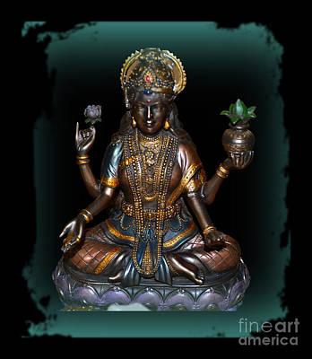 Hindu Goddess Photograph - Lakshmi Hindu Goddess by Eva Thomas