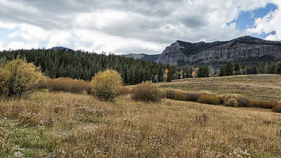 Photograph - Lamar Valley Looking Towards Specimen Ridge - Yellowstone by Belinda Greb