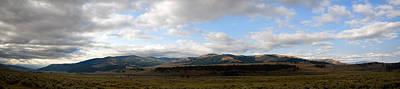 Summer Photograph - Lamar Valley Panorama by Benjamin DeHaven
