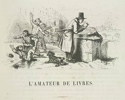Francais Photograph - L'amateur De Livres by British Library
