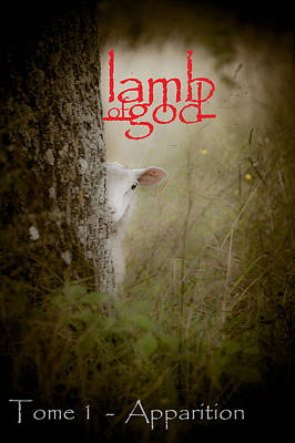 Lamb Of God Book Cover Print by Loriental Photography