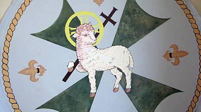 Painting - Lamb Of God by Patrick RANKIN