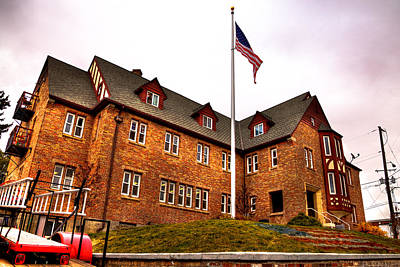 Photograph - Lambda Chi Alpha Fraternity On The Wsu Campus by David Patterson