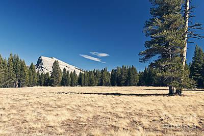 Lambert Dome In Yosemite National Park Art Print by Justin Paget