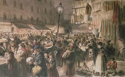 Lambeth Market Art Print by Godefroy Durand