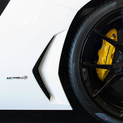 Photograph - 2015 Lamborghini Aventador Lp700 4 by Rospotte Photography