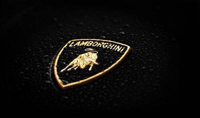 Photograph - Lamborghini Badge Phone Case by Mark Rogan