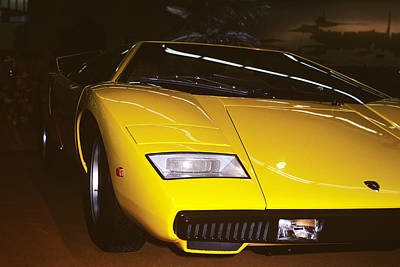 Photograph - Lamborghini Countach by Dragan Kudjerski