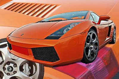 Photograph - Lamborghini Gallardo  by Gill Billington