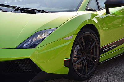 Photograph - Lamborghini Gallardo Superleggera by Dany Lison